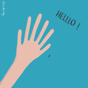 Hello reality check six fingers lucid dreaming illustration