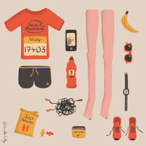 New legs for a race preparation illustration kit list
